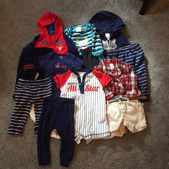 Matching Sets Bundle Of 12 69 Month Old Baby Boy Clothes Poshmark
